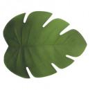 set tavolo foglia 47x38 verde