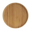 plate bamboo d26.5