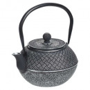 black rice cast iron teapot 1l