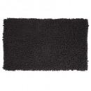 chenille maxi mat 50x80 zwart, zwart