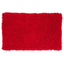 wholesale Bath & Towelling: chenille maxi carpet 50x80, red