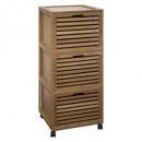 Muebles de bambú de 3 caras sicela