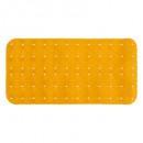 bodembad pvc 69x39cm geel, geel