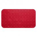 pvc badachtergrond 69x39cm coqueli, rood
