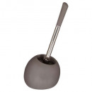 brosse wc sun mat taupe, taupe
