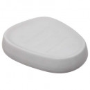 porte savon silk mat blanc, blanc