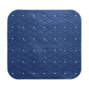 dusche hintergrund pvc 55x55cm märz, dunkelblau