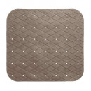 PVC-Duschwanne 55x55cm taupe, taupe