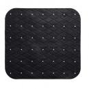 pvc douchebak 55x55cm zwart, zwart