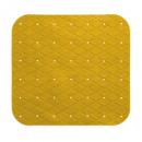 pvc douche achtergrond 55x55cm geel, geel