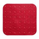 douche achtergrond pvc 55x55cm klaproosrood, rood