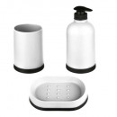 wholesale Home & Living: dirty bathroom accessory x3 polypropylene ...