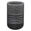 wholesale Toys: bad polyresin pot silv, gray