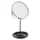 standing mirror silv, black