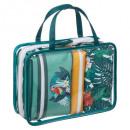 nagyker Táskák és utazási kellékek:Trópusi WC-táska x4 p