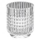 copa de cristal precioso, transparente