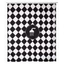 cortina de ducha de cadencia