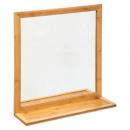 bamboe plank rechthoek spiegel