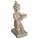 bleached buddha resin h43, beige