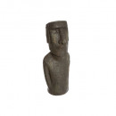 statue Easter Island resin h40, brown
