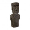 wholesale Toys: Easter Island statue h58 resin, brown