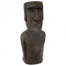 wholesale Toys: statue Easter Island resin h80, brown