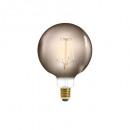 led-lamprook g125 4w, gerookt grijs