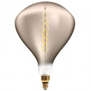 led bulb twisted smoke r250 6w, smoked gray
