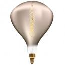 LED-Lampe verdreht Rauch r250 6w, grau geraucht