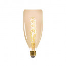 bt78 4w amber gedraaide led lamp, amber