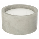scented candle citr round 600g, gray