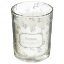 scented candle glass charm 210g, 2- times assorted