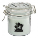 scented candle glass south 190g, 3- times assorted