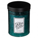 candle scented glass dolce 285g, 4- times assorted