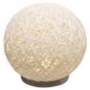 abj white cement lamp d18.5, white