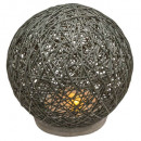 gray abj cement lamp d18.5, gray