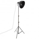 floor lamp metal trep h175, black