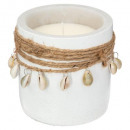 scented candle summer 220g, white