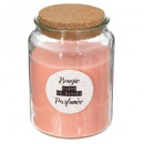 candle scented glass dream 510g, 3- times assorted