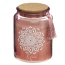 scented candle glass lieg ritual 510g, 3-fold as