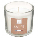 scented candle amber elea 100g, white