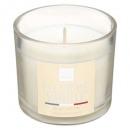 scented candle fl vanilla elea 100g, white