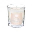 scented candle fl orange elea 190g, white