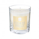 bougie parfumées fl vanill elea 190g, blanc