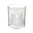 vela perfumada fl lys elea 190g, blanca