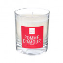 scented candle amelea pomm 190g, white