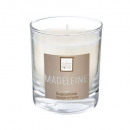 scented candle madeleine elea 190g, white