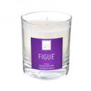 bougie parfumées figue elea 190g, blanc