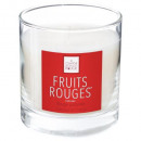 scented candle fruit red elea 470g, white