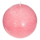 Vela aromática perfumada púa elea d10, rosa medio